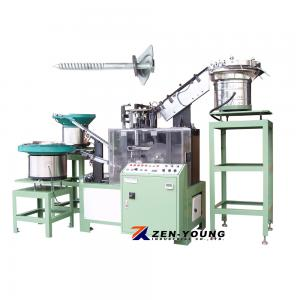 Screws & Metal Curved Washers & EPDM Washer Assembly Machine