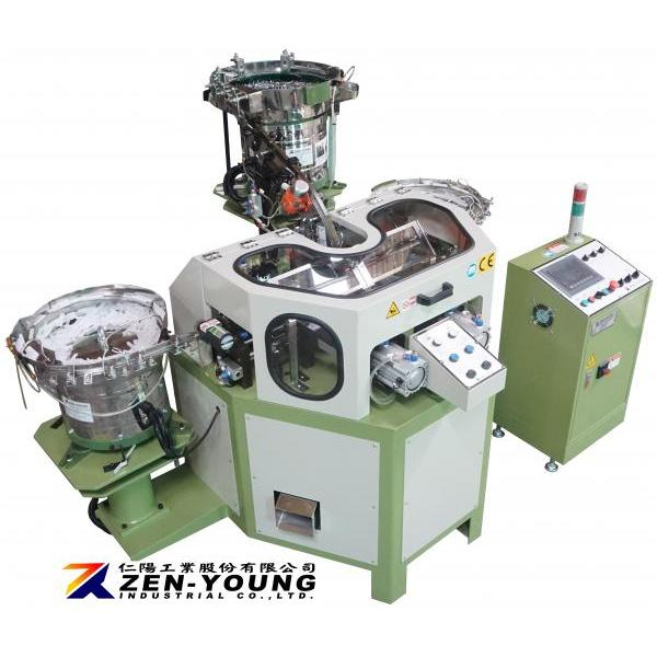 Collated Strip Pin Assembly Machine